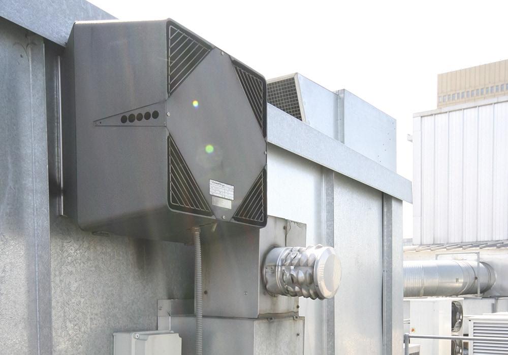 chimney fan on side of waxy o conner