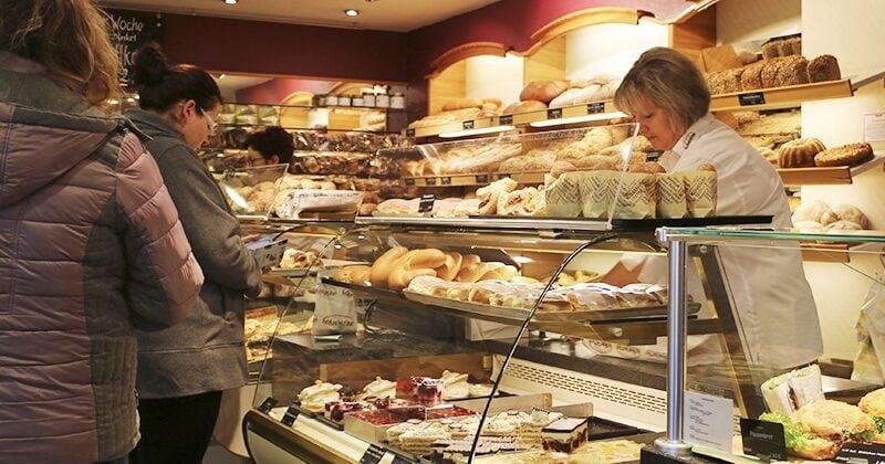 bakery selling bread